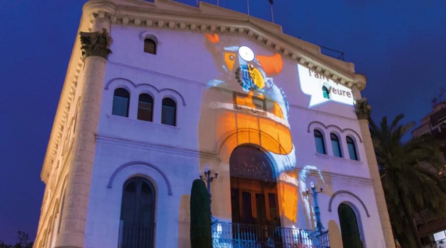 03/05/2019 – 21.15 h – Projecció dels Forjadors de la Festa a la façana